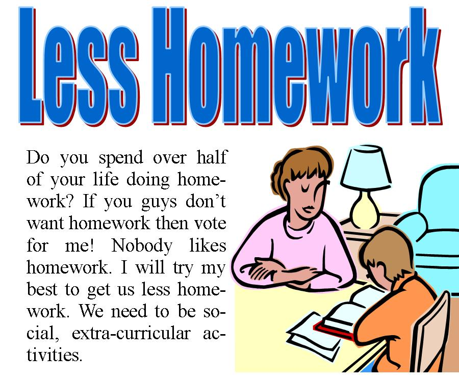 For and against homework